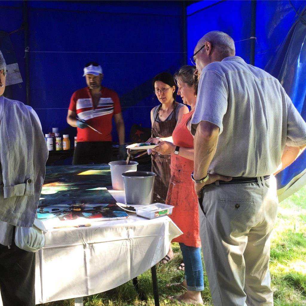 Art in the Park Workshops 2015
